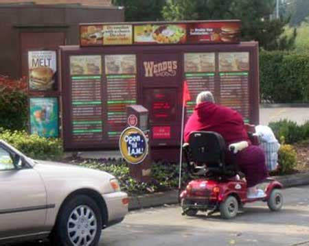 Merica Wheelchair Meme - is a car required for drive through service
