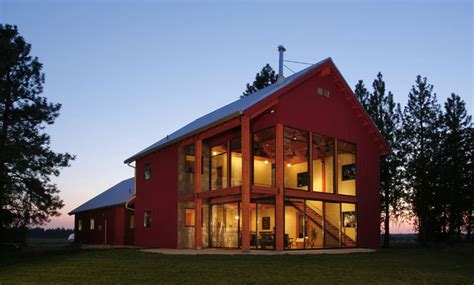house barn rural barnhouse nystrom architecture