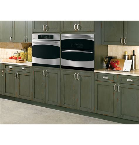 ge small kitchen appliances ge cooks up double oven versatility in one small space