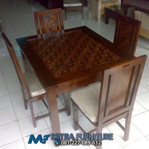Meja Makan Ganesa Mebel Jepara Mebel Jati Free Ongkir Jawa meja kursi makan batik ukiran kayu jati product 106 agus mebel jepara