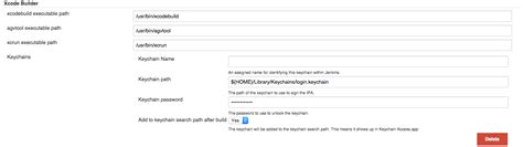 xcode keychain tutorial xcode error setting up jenkins for ios stack overflow