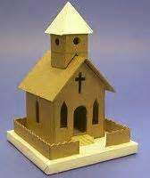 How To Make A Paper Church - best 25 cardboard houses ideas on cardboard