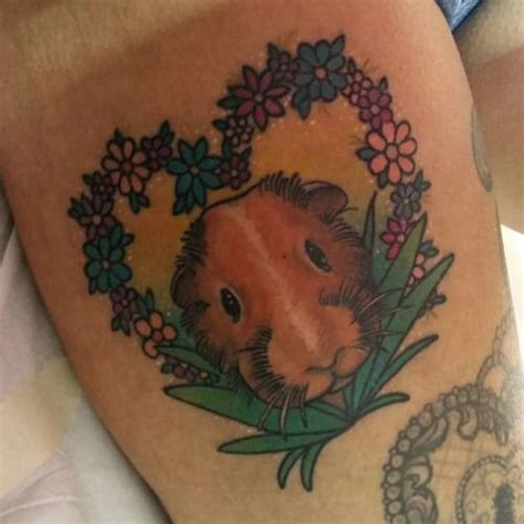 guinea pig tattoo best 25 pig tattoos ideas on pig drawing