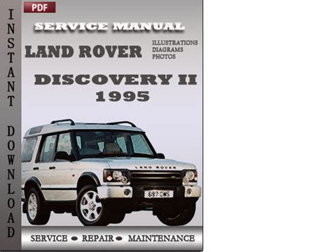 free service manuals online 2011 land rover discovery electronic valve timing land rover discovery 2 1995 factory service manual download downl