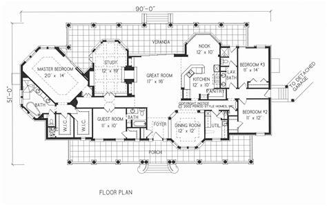 texas style floor plans spanish colonial home plans texas