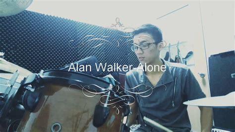 alan walker drum alan walker alone drum cover by keong youtube