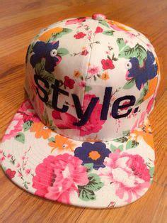 Topi Snapback Inker flat brim hat hat sharpie hat snapback hat snap back hat doodle hat painted hat