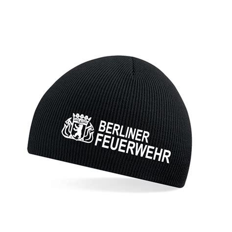 Berliner Feuerwehr Aufkleber by Beanie Bf Schwarz Hauptstadtfeuerwehr