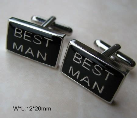 Best Man Wedding Cufflinks [bestman cufflinks]   £10.50