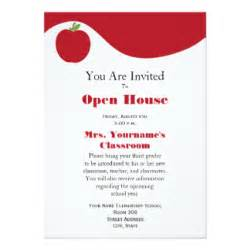 school open house template elementary school open house invitations announcements