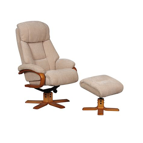 Fabric Swivel Recliner by Gfa Dune Fabric Swivel Recliner From Recliners Direct