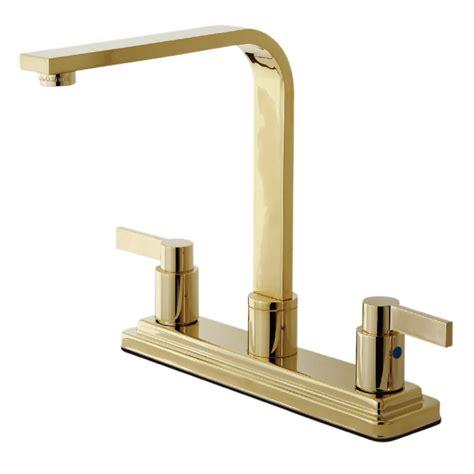 kingston brass kitchen faucet kingston brass kb8792ndlls nuvofusion kitchen faucet