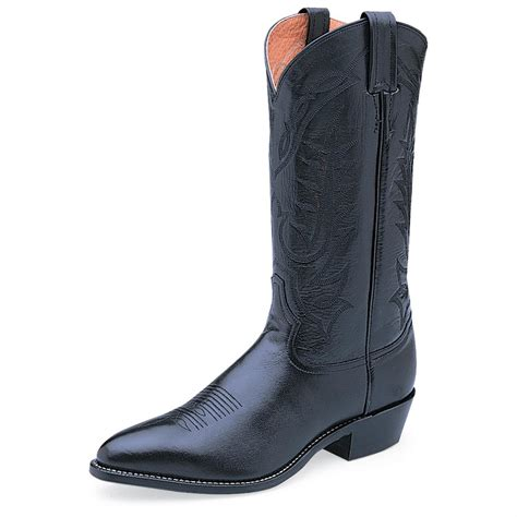 pointed toe mens boots s tony lama 174 pointed toe 13 quot western boots black