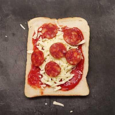 Panggangan Pizza toastie pizza resepkoki co