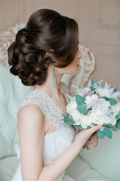 Vintage Bridal Updos by 20 Most Bridal Updos Wedding Hairstyles To