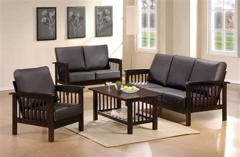 wooden sofa set designs for small living room small living room with black wooden sofa sets design