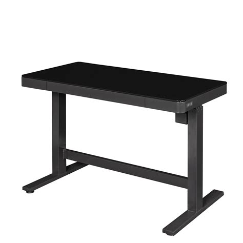large adjustable height desk adjustable height desk black