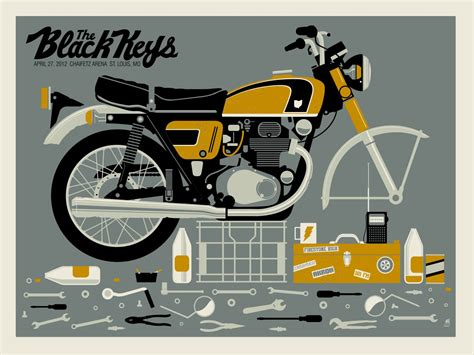 Louis Motorrad Black Friday by Inside The Rock Poster Frame Tonight S The Black