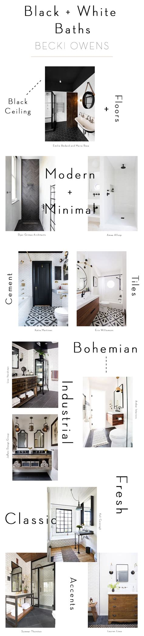 bathroom black and white black and white bathrooms becki owens