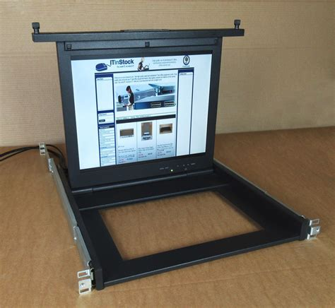 Server Rack Monitor by Ibm 80p3750 17 Rackmount Tft Lcd Monitor For Server Rack