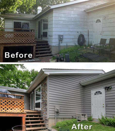 modernize ranch house remodel before and after ranch