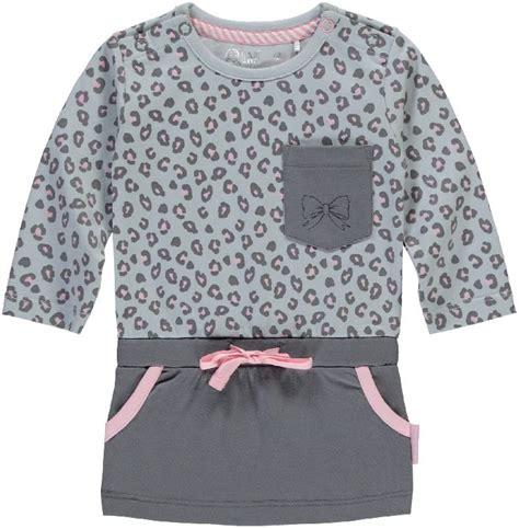 baby jurk grijs jurk girls zabrina grijs light grey leopard ref