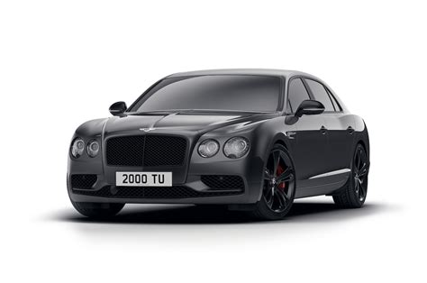 bentley and black bentley flying spur v8 s gets subtle black edition motor