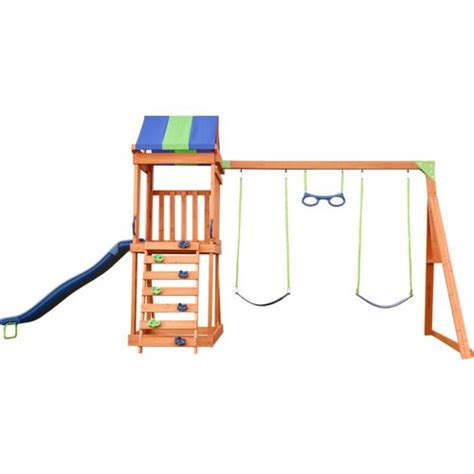 wooden swing set reviews play sets swing sets academy