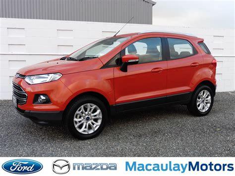 used ford ecosport ford ecosport 2015 used fords for sale in new zealand