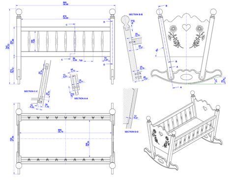 build diy crib plans woodworking  plans wooden