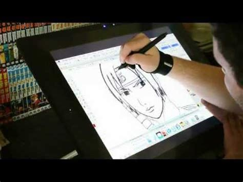 paint tool sai drawing without tablet drawing sai from shippuden on the wacom cintiq 21ux