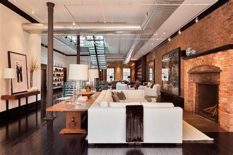 loft houses elegant and classic loft in the heart of tribeca decoholic