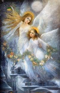 nadia strelkina art images  pinterest angels angel  angel art