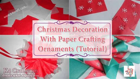 crafting ornaments diy decoration with paper crafting ornaments