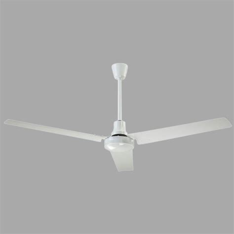 60 white ceiling fan canarm 60 in indoor white high performance industrial