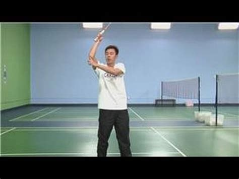 badminton swing technique badminton badminton swing for beginners youtube