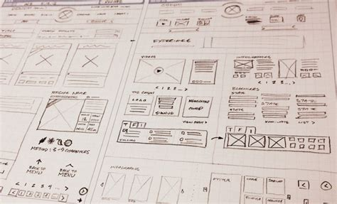 layout web sketch drafting tips for creative wireframe sketches