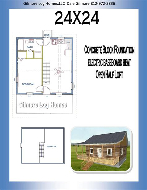 small cabin plans 24x24 plans gilmore log homes floor plans