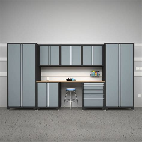 Garage Organization Systems Lowes Roselawnlutheran Metal Cabinets For Garage Storage