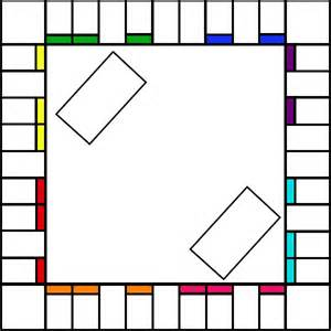 Empty Monopoly Board Template by Blank Monopoly Board Labyrinth Monopoly Anyone Instead