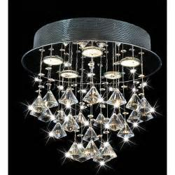 to ceiling chandelier chorus 5 light chrome ceiling chandelier