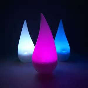 raindrop lights led water candles raindrop