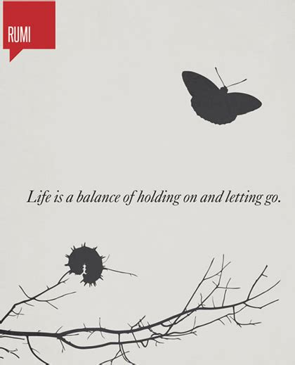 Rumi Memes - holding on and letting go rumi picture quote astound me