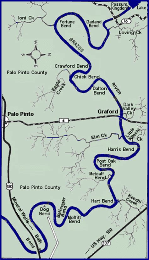 brazos river texas map brazos river map