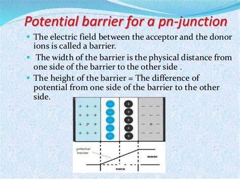 barrier potential in pn junction diode semiconductors rawat d agreatt