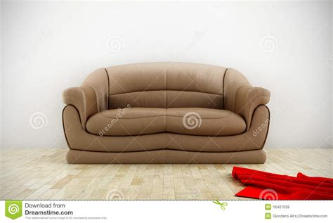 Comfortable Leather Sofa by Comfortable Leather Sofa Stock Illustration Image Of Seat