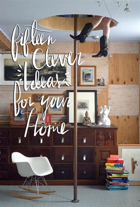 clever home decor ideas 15 clever ideas for your home design sponge