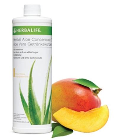 Herbalife Aloe Mango herbal aloe concentrate mango targeted products herbalife products