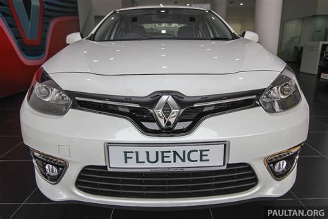 Renault Fluence Malaysia Renault Fluence Facelift Launched In Malaysia Rm109k