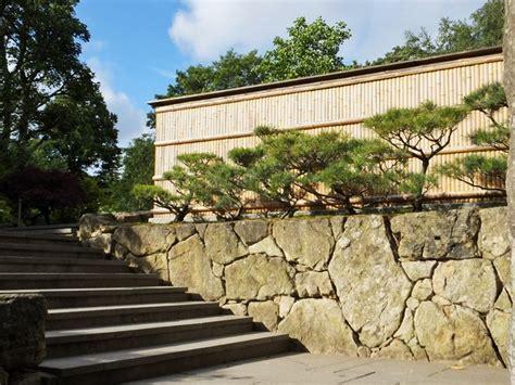 Entrance To Kyoto Japanese Garden Holland Park With Japanese Garden Walls